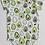 Thumbnail: Loulou Lollipop Short Sleeved Avocado Bodysuit