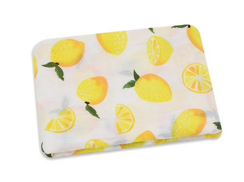 Muslin Lemon Swaddle