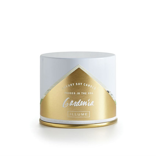 Gardenia Demi Vanity Tin Candle by Illume