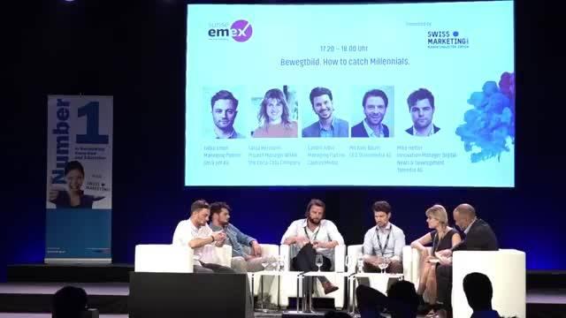 Suisse EMEX 2017 - Paneldiskussion – Bewegtbild. How to catch Millenails?