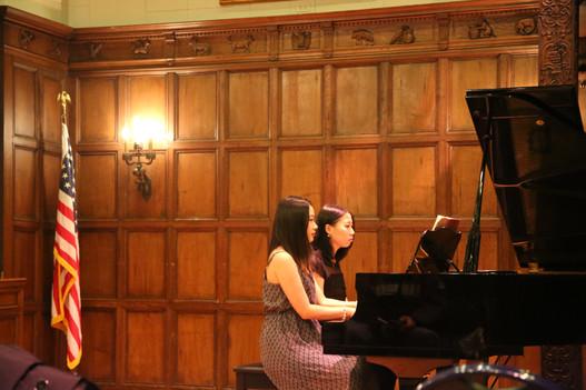 Four-hand Concert