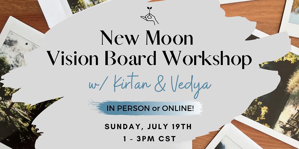 New Moon Vision Board Workshop