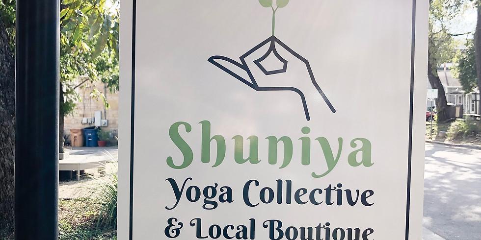 Shuniya Yoga Collective's Artisan Market
