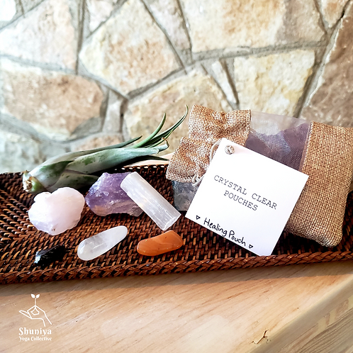 Crystal Clear Pouches - Healing Pouch