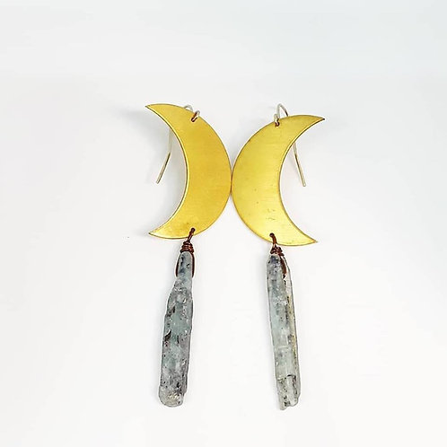 Daisy Metalworks - Crescent Brass Moons