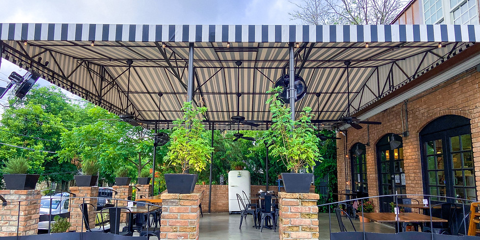 At Spread & Co.: Meditative Flow on the Patio!