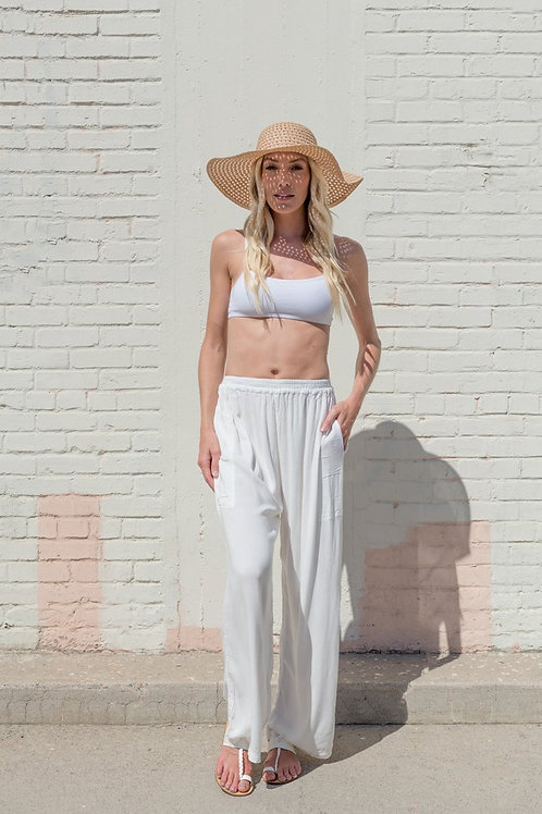 More Rockin - Slouchy Wide Leg (Sand)