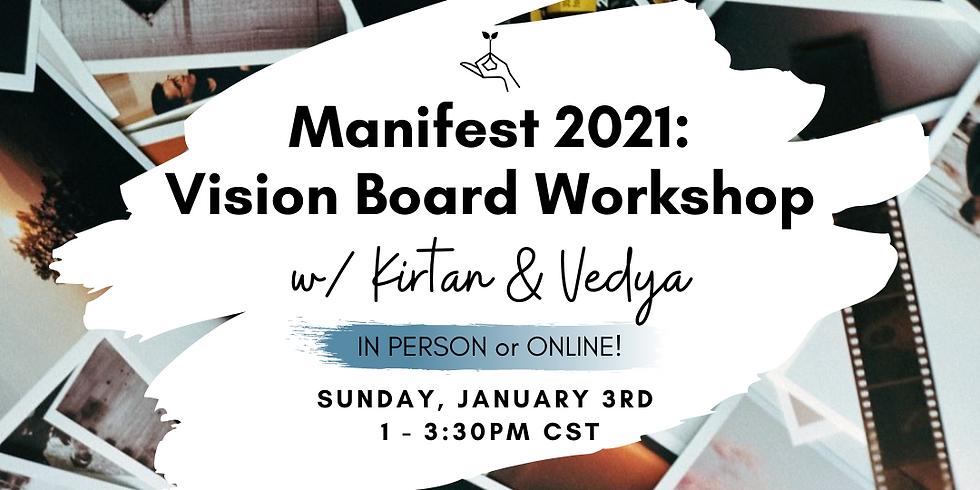 Manifest 2021: Vision Board Workshop