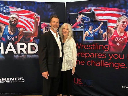 Amazing evening at the USWrestling Found