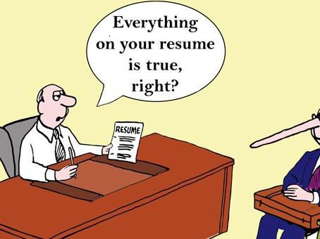 Beware: Employee Misrepresentation on CVs is Getting Worse