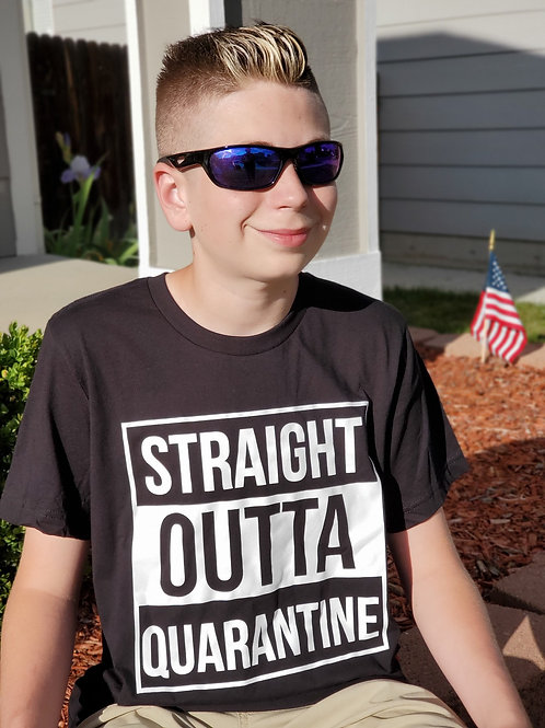 Straight Outta Quarantine Coronavirus Tshirt