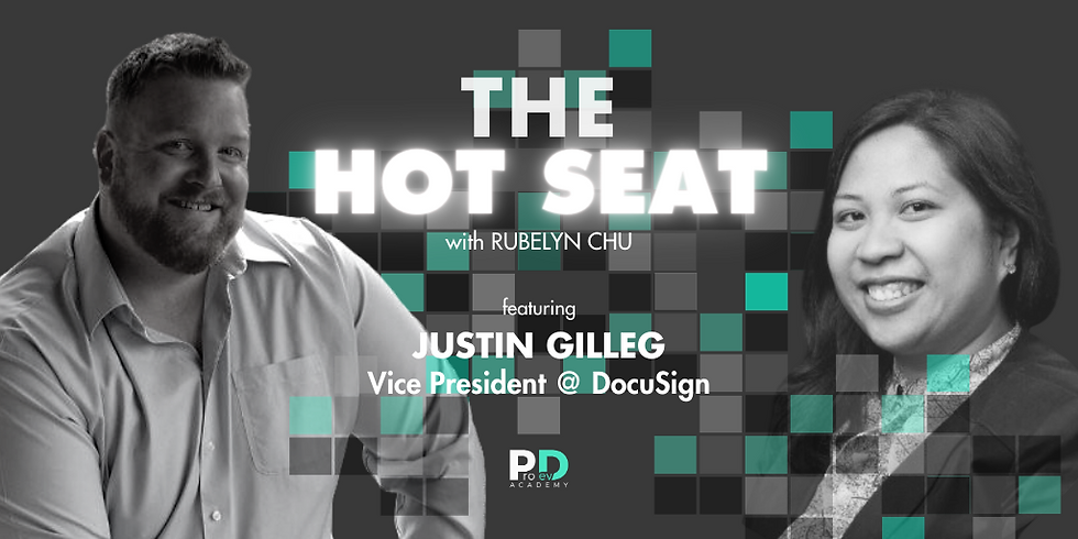 The Hot Seat: Justin Gilleg   Vice President @ Docusign