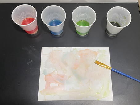 Baking Soda Paint Tutorial!