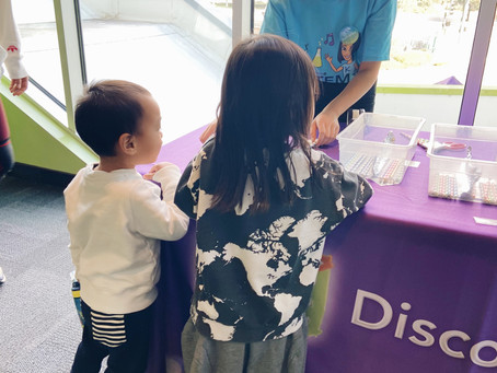 STEM THE ART at Discovery Cube OC!
