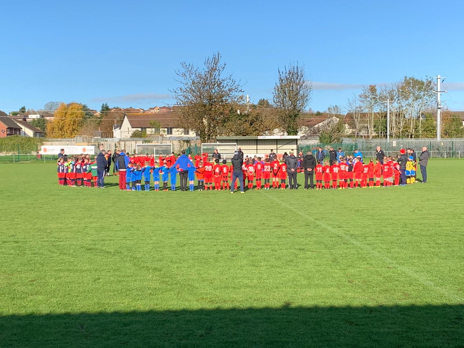 U7s and U9s Remembrance Silence