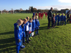 Under 7s Remembrance Silence.