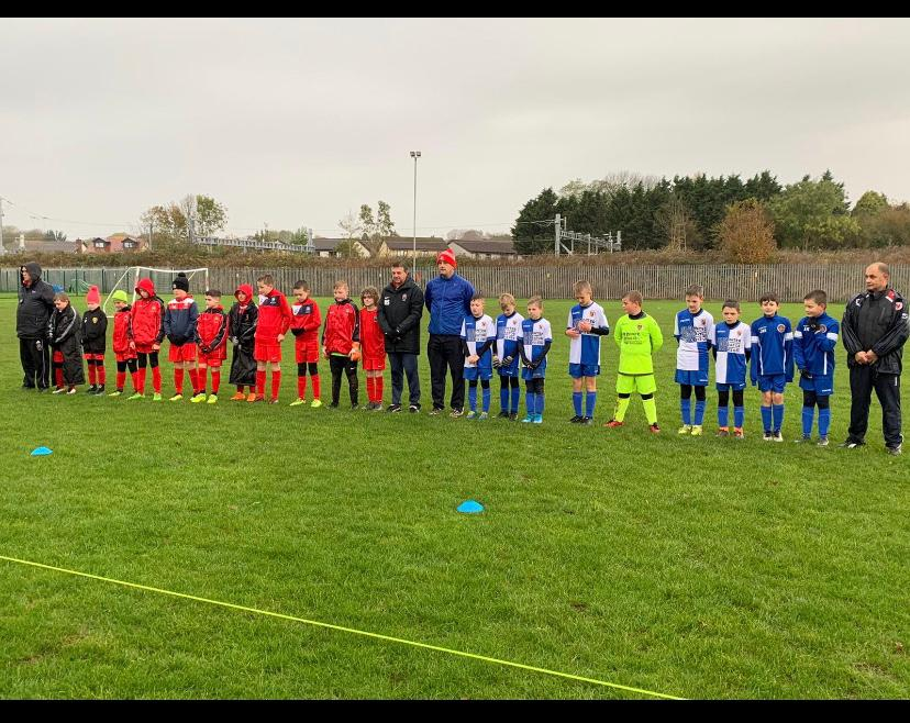 Under 11s Remembrance Silence