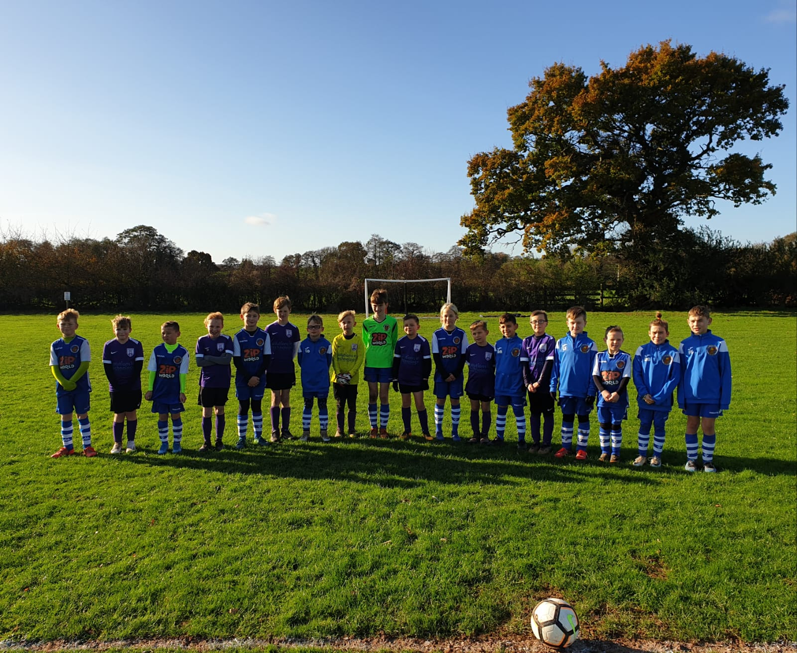 Under 8s Remembrance Silence.