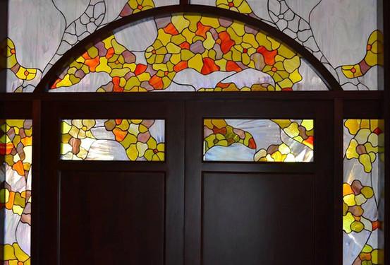 דלת כניסה בבית במודיעין