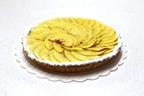 Tarte pomme tranches