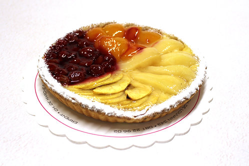 Tarte quatre fruits