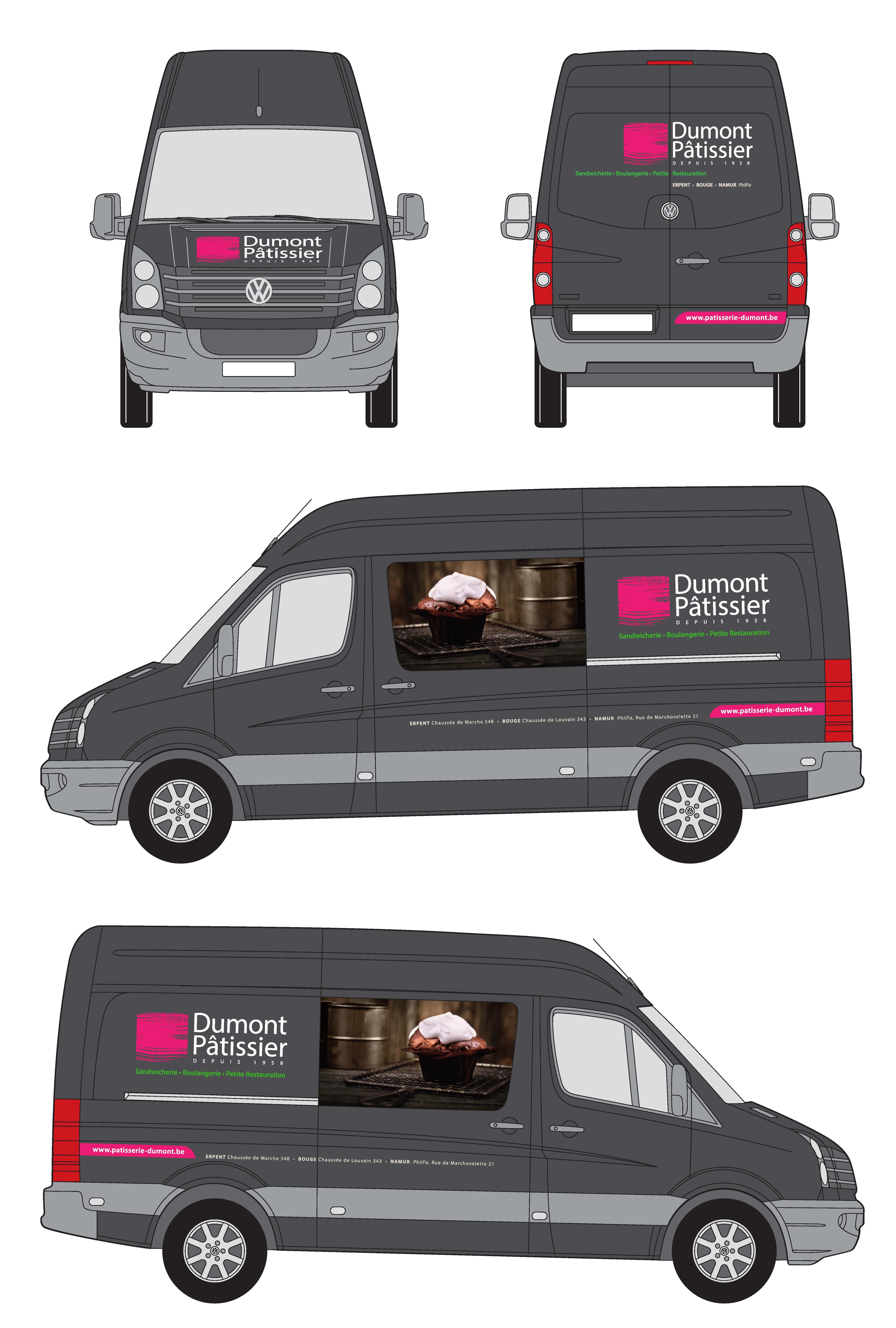 Decor Camionnette Dumont