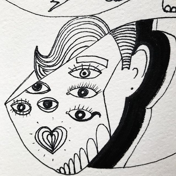 #illustration #linework #blackline #ink