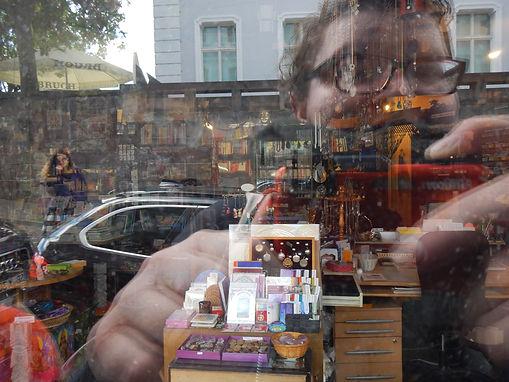 Self Portrait in Saarbrucken Shop Window