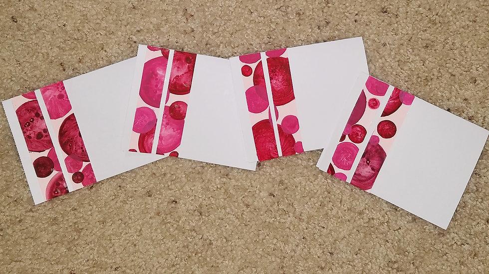 MAGNIFICAT Minimalist Goodwill Notecards 1 (4-pack)