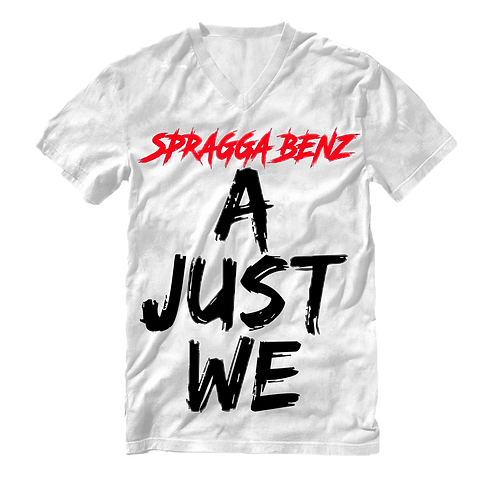 A Just We T-Shirt Black & White