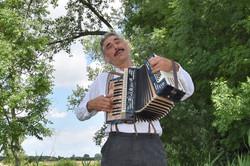 Boek accordeonist entertainer