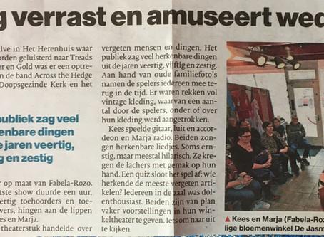 Aardenburg verrast en amuseert wederom