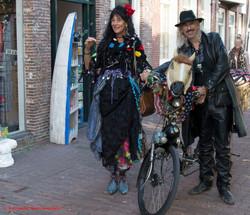 Street theatre Wild West