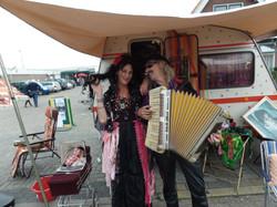Straattheater Zigeuners