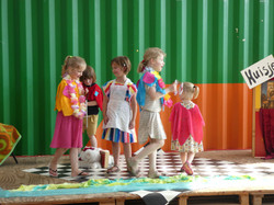 Kinderfeestje theater