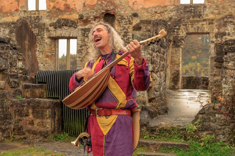 middeleeuws straattheater