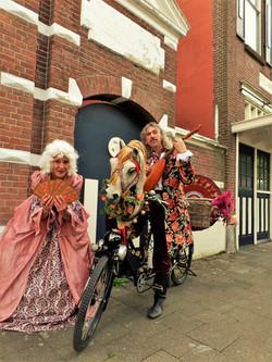 Street theatre booking