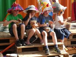 Kinderverjaardag theater