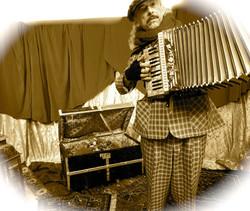 Dickens accordeonist