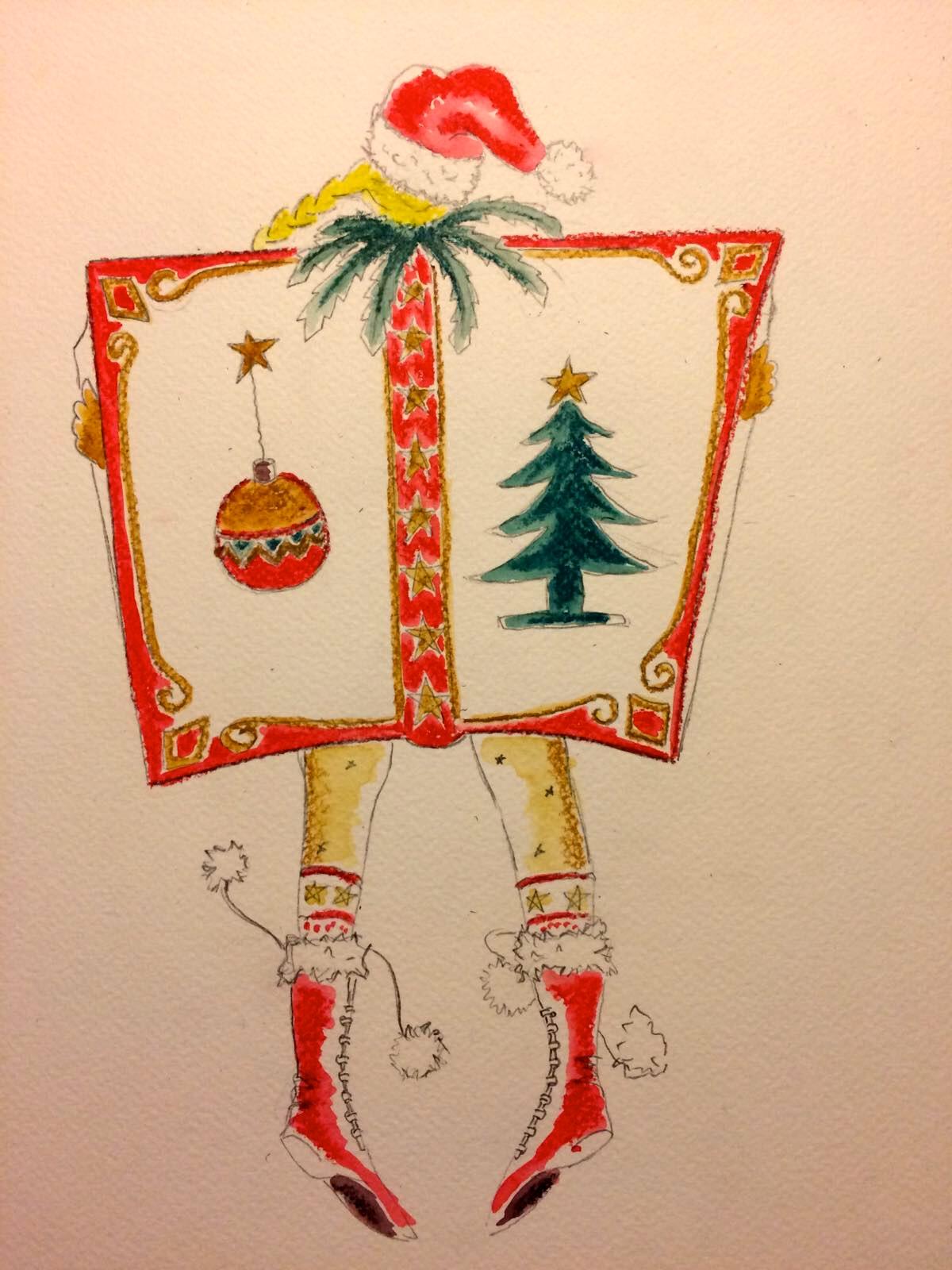 Wandelend Kerstboek