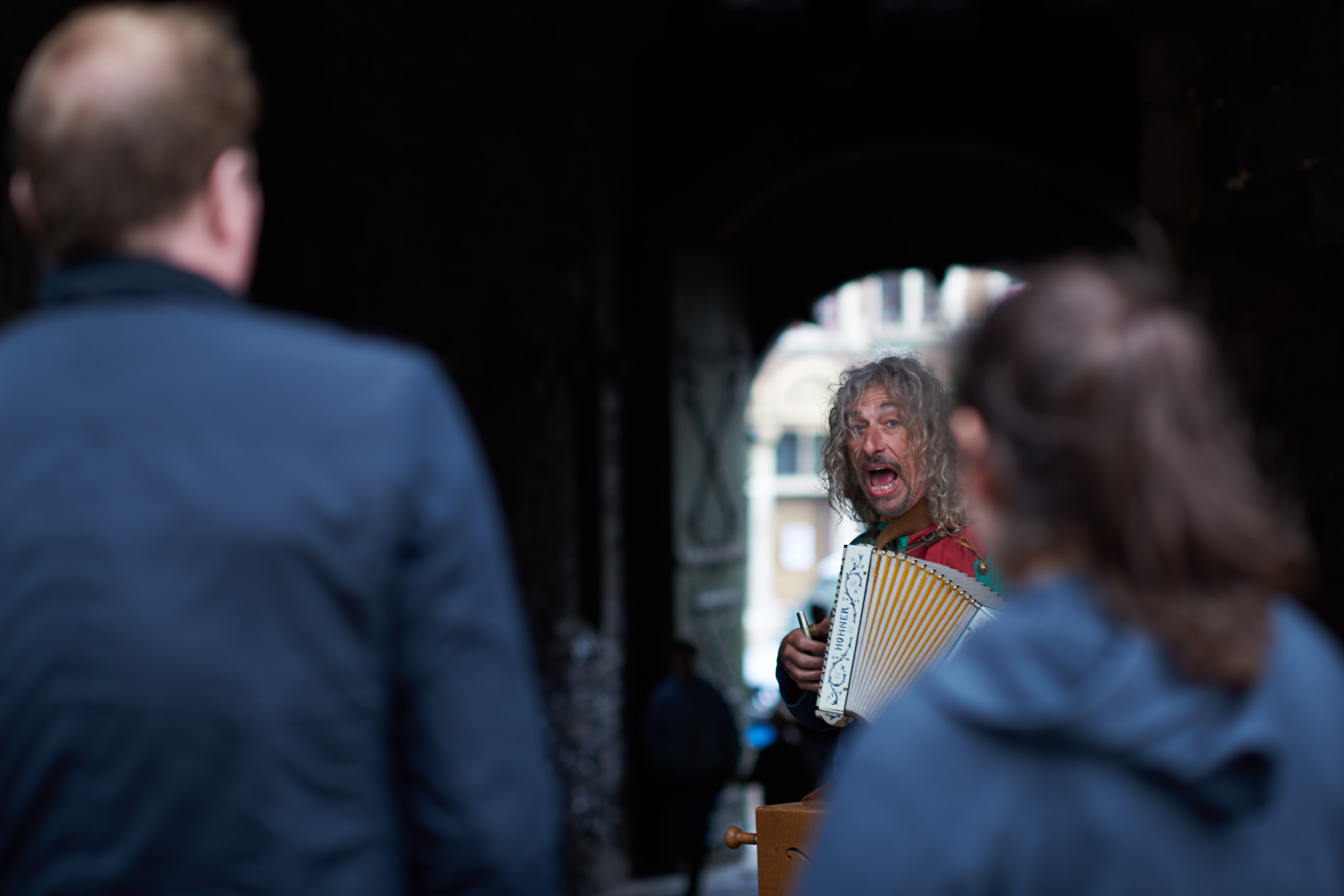 Muzikale nar in Gent