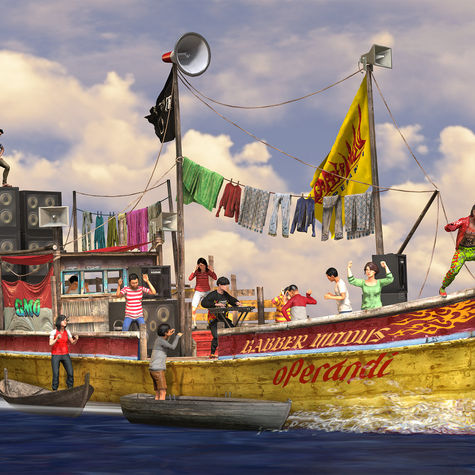 RGxGMO Garment Smuggler's Boat