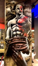 Graffiti Mural Buenos Aires Angel Kaz (8