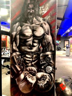 Graffiti Mural Buenos Aires Angel Kaz (6