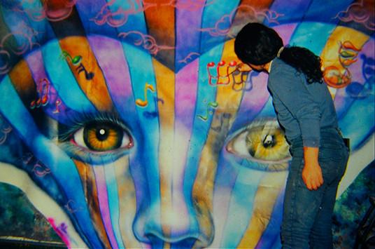Mural Graffiti  Buenos Aires Angel Kaz