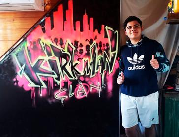 Graffiti Mural Buenos Aires Angel Kaz (7