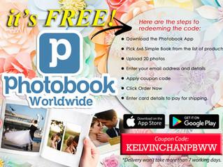 Photobook Worldwide FREE Album redeem.