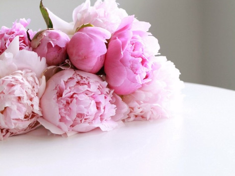 MAY LESSON; ' Peony Bouquet '