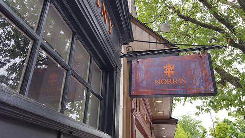 NORRIS Hanging sign.jpg