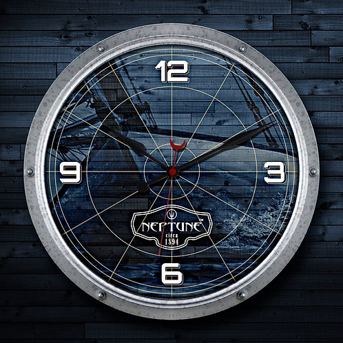 NEPTUNE HATCH WALL CLOCK